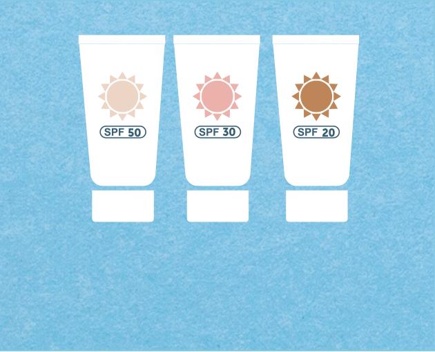 Utilizzare almeno ogni due ore le creme solari con indice di protezione (SPF) riferite al fototipo